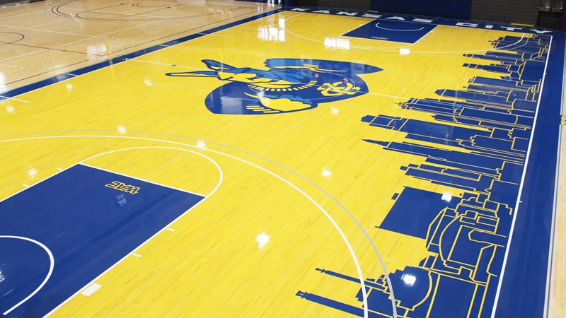 Redesign Gives Roos Best Court In Kansas City University Of Missouri Kansas City